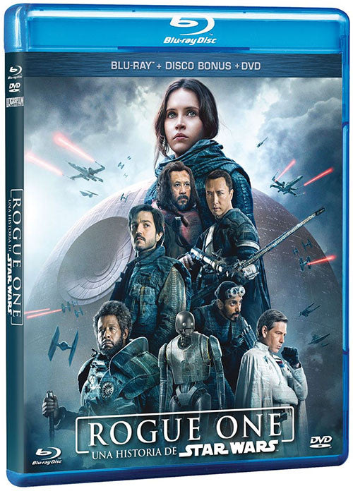 Rogue One Una Historia De Star Wars Blu-Ray+DVD