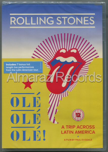 The Rolling Stones Ole Ole Ole! A Trip Across Latin America DVD