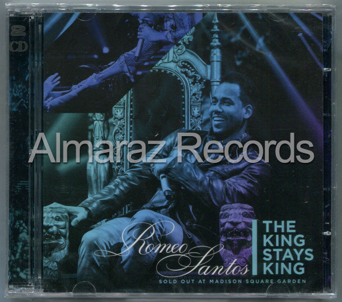 Romeo Santos The King Stays King Sold Out At Madison Square Garden Deluxe CD+DVD - Almaraz Records | Tienda de Discos y Películas  - 1