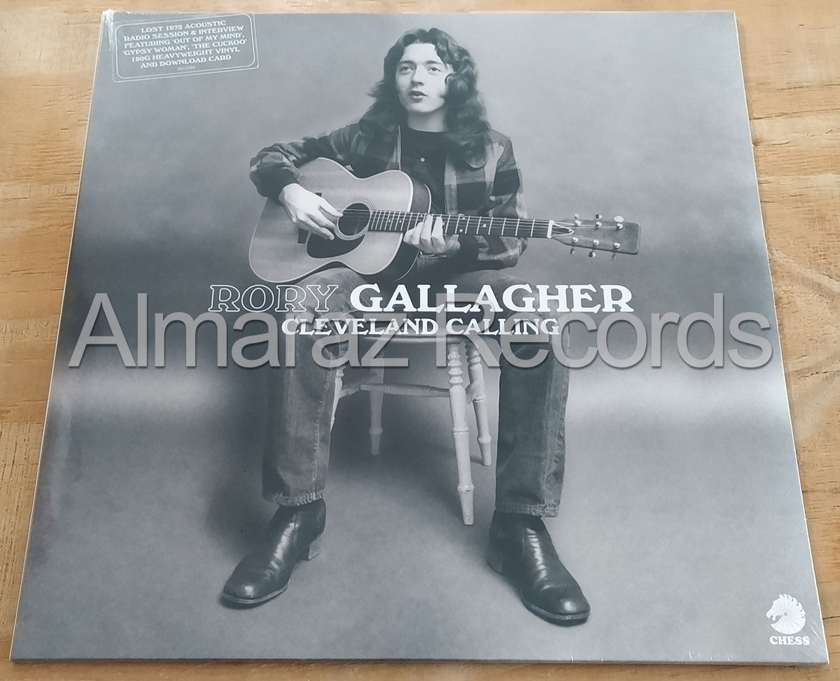 Rory Gallagher Cleveland Calling Vinyl LP RSD2020