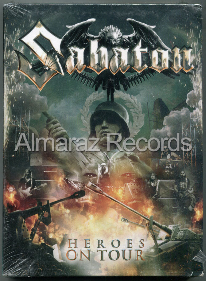 Sabaton Heroes On Tour 2DVD+CD