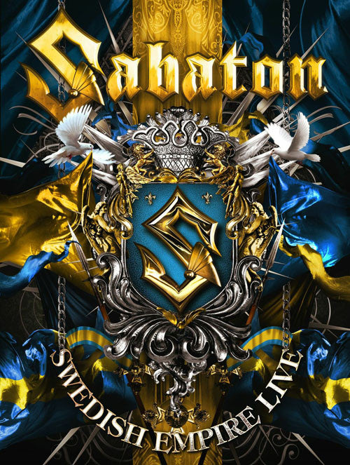 Sabaton Swedish Empire Live CD - Almaraz Records | Tienda de Discos y Películas