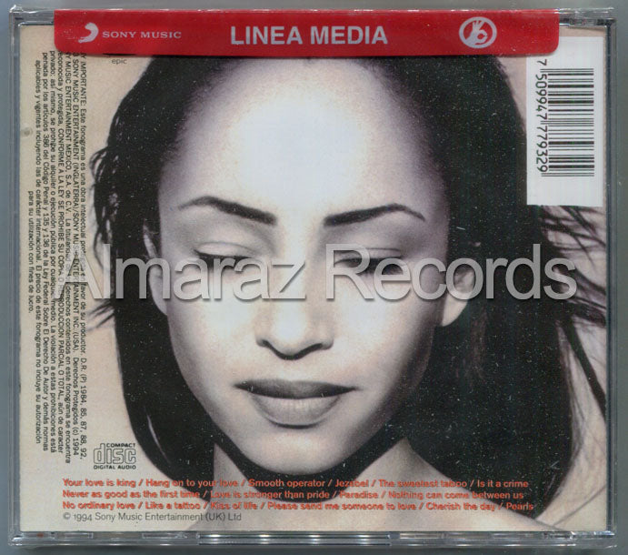 Sade The Best Of Sade CD