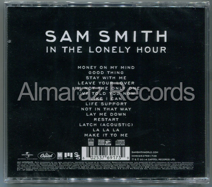 Sam Smith In The Lonely Hour CD - Almaraz Records | Tienda de Discos y Películas  - 2