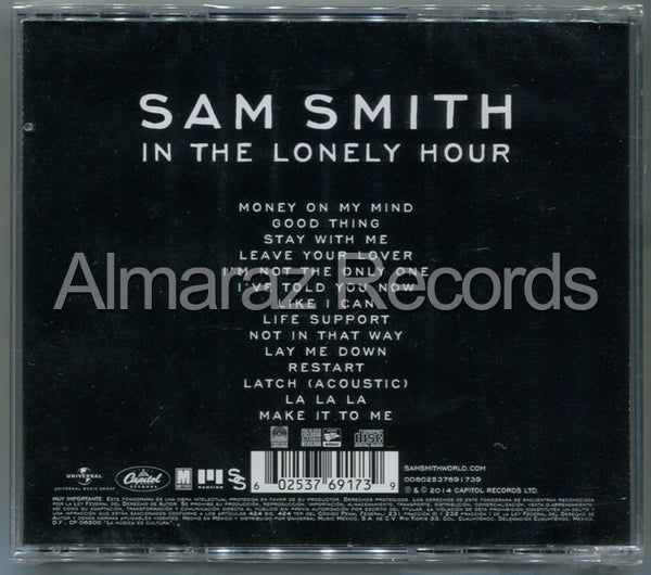 sam smith in the lonely hour cd