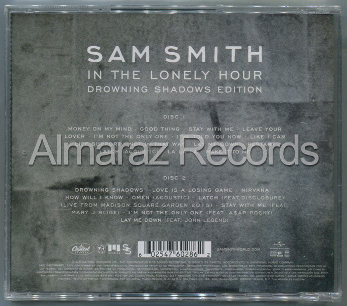 Sam Smith In The Lonely Hour Drowing Shadows Edition 2CD