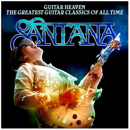 Carlos Santana Guitar Heaven The Greatest Guitar Classics Of All Time CD+DVD - Almaraz Records | Tienda de Discos y Películas