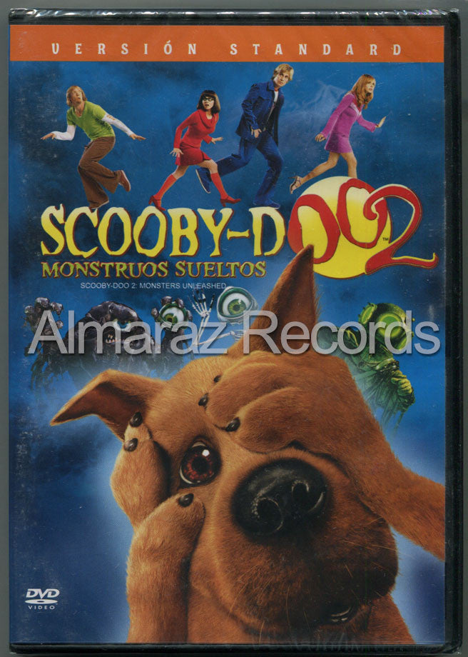 Scooby Doo 2 Monstruos Sueltos DVD - Scooby Doo 2 Monsters Unleashed - Almaraz Records | Tienda de Discos y Películas  - 1