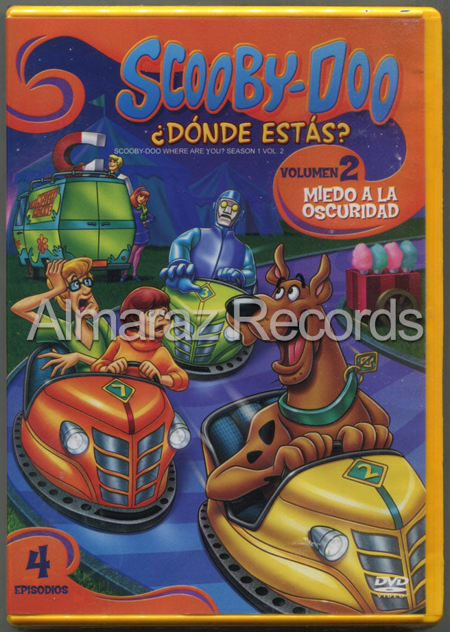 Scooby Doo Donde Estas? 1 Vol 2 DVD - Scooby Doo Where Are You? Season 1 Vol 2