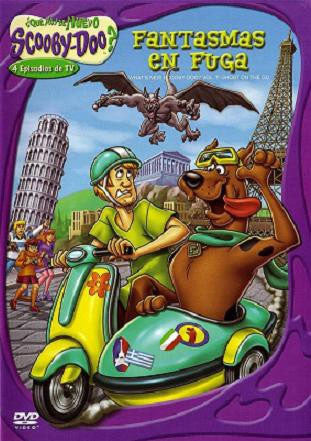 Scooby Doo Fantasmas En Fuga DVD - What's New Scooby Doo? Ghost On The Go - Almaraz Records | Tienda de Discos y Películas