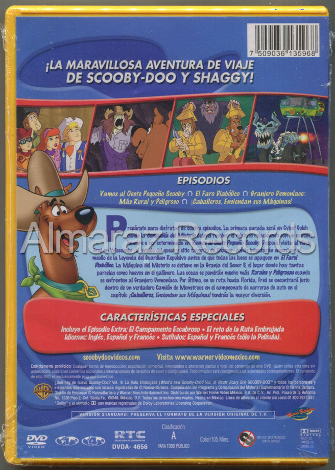 Scooby Doo La Ruta Embrujada DVD - What's New Scooby Doo? Route Scary