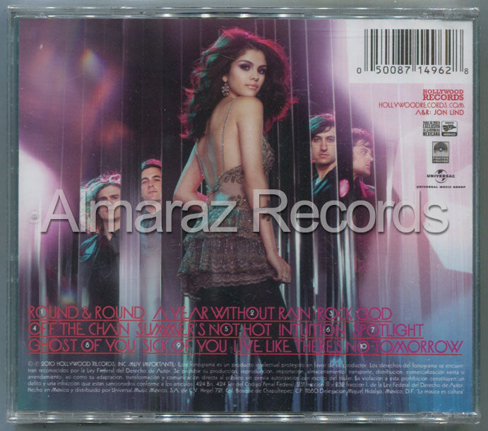 Selena Gomez A Year Without Rain CD