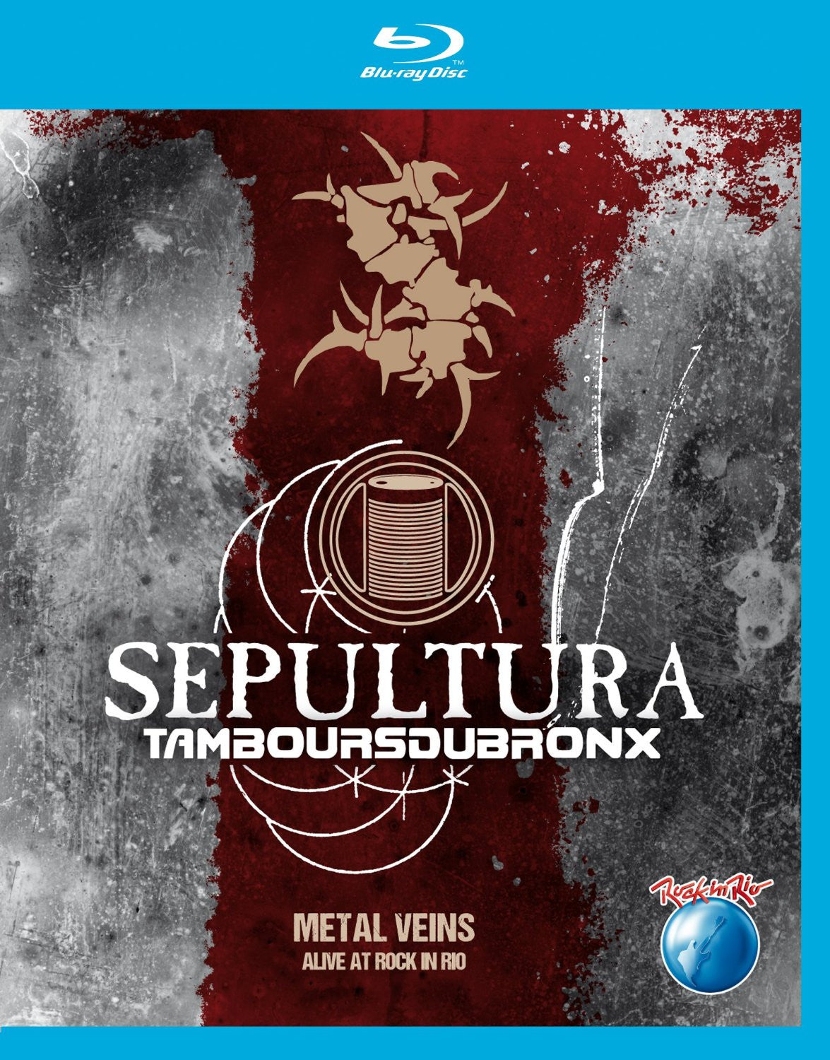 Sepultura Metal Veins Alive At Rock In Rio Blu-Ray [Import] - Almaraz Records | Tienda de Discos y Películas