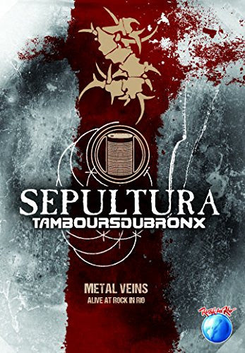 Sepultura Metal Veins Alive At Rock In Rio DVD [Import] - Almaraz Records | Tienda de Discos y Películas
