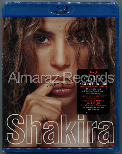 Shakira Oral Fixation Tour Blu-Ray+CD [Import] - Almaraz Records | Tienda de Discos y Películas  - 1