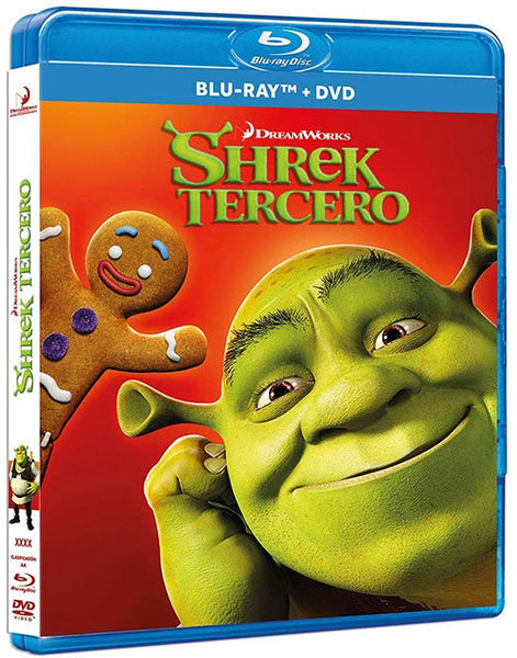 Shrek Tercero Blu-Ray+DVD