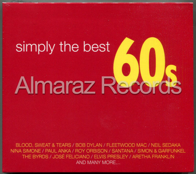 Simply The Best 60's 3CD
