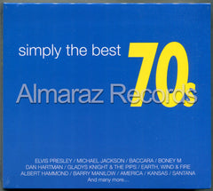Simply The Best 70s 2CD+DVD