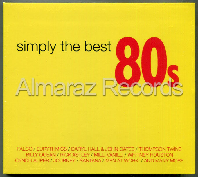 Simply The Best 80's 2CD+DVD
