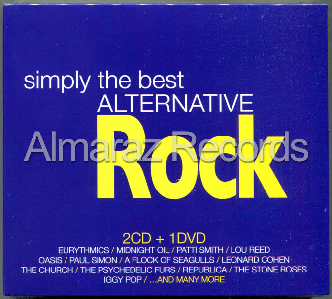Simply The Best Alternative Rock 2CD+DVD