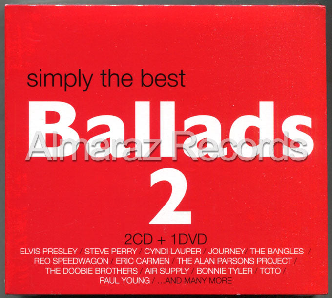 Simply The Best Ballads 2 2CD+DVD