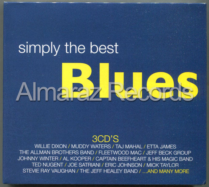 Simply The Best Blues 3CD