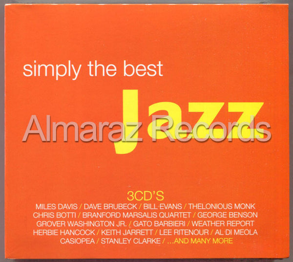 Simply The Best Jazz 3CD