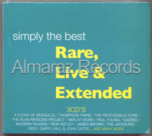 Simply The Best Rare Live & Extended 3CD