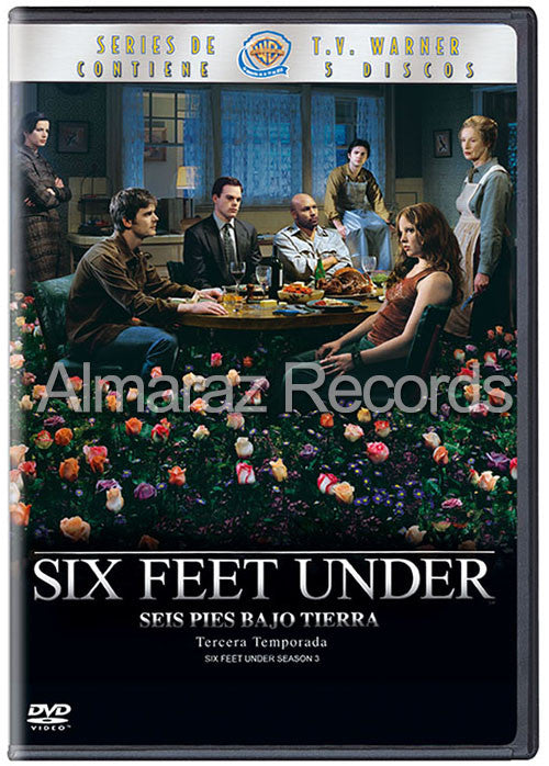 Six Feet Under Temporada 3 5DVD - Almaraz Records | Tienda de Discos y Películas