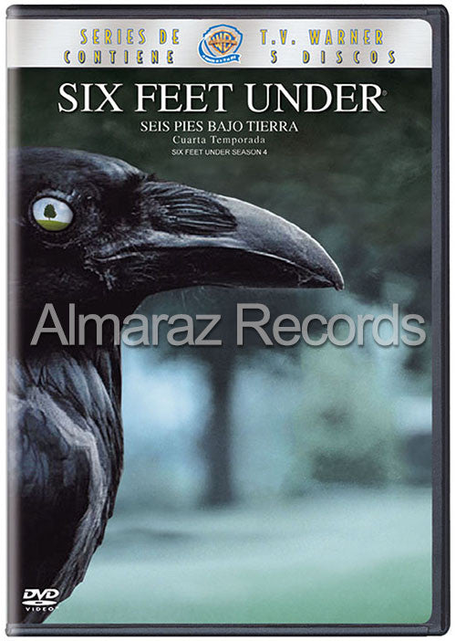 Six Feet Under Temporada 4 5DVD - Almaraz Records | Tienda de Discos y Películas