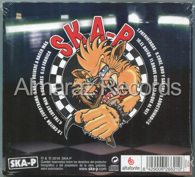 SKA-P Game Over CD