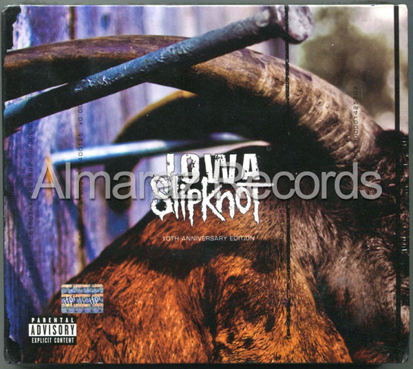Slipknot IOWA 10th Anniversary Edition 2CD+DVD - Almaraz Records | Tienda de Discos y Películas  - 1