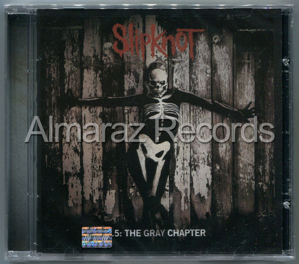 Slipknot 5 The Gray Chapter Cd