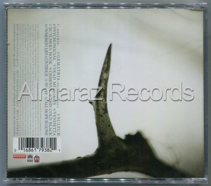Slipknot All Hope Is Gone CD [Import] - Almaraz Records | Tienda de Discos y Películas  - 2