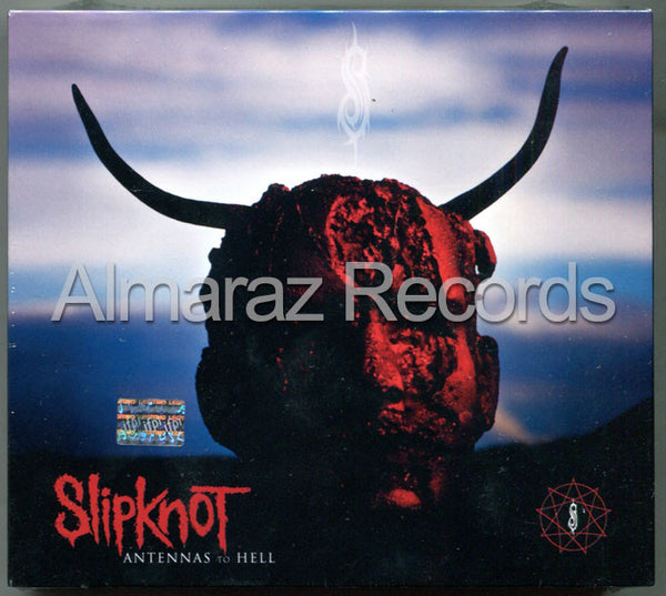 Slipknot Antennas To Hell Deluxe 2CD+DVD - Almaraz Records | Tienda de Discos y Películas  - 1