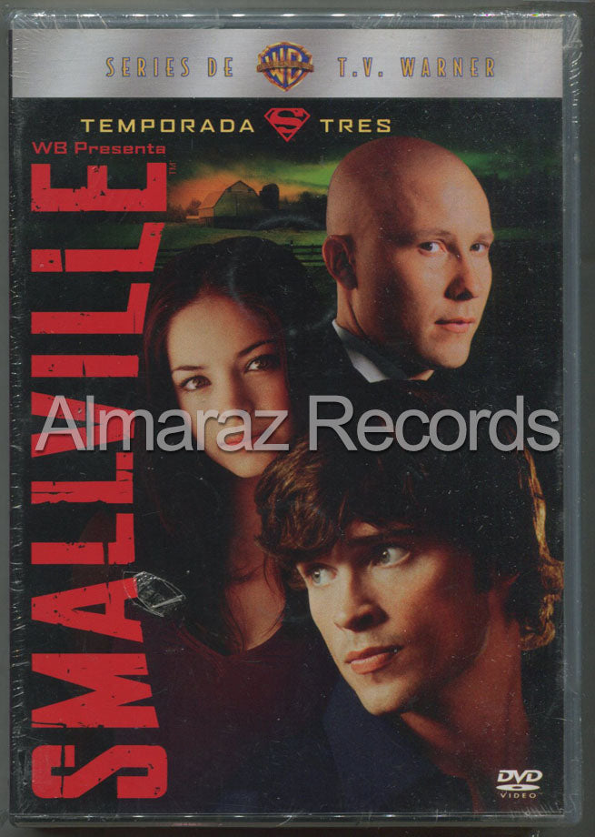 Smallville Temporada 3 DVD