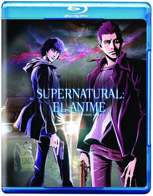 Sobrenatural El Anime Blu-Ray - Supernatural The Anime Series - Almaraz Records | Tienda de Discos y Películas