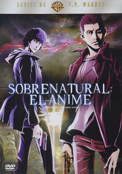 Sobrenatural El Anime 3DVD - Supernatural The Anime Series - Almaraz Records | Tienda de Discos y Películas  - 1