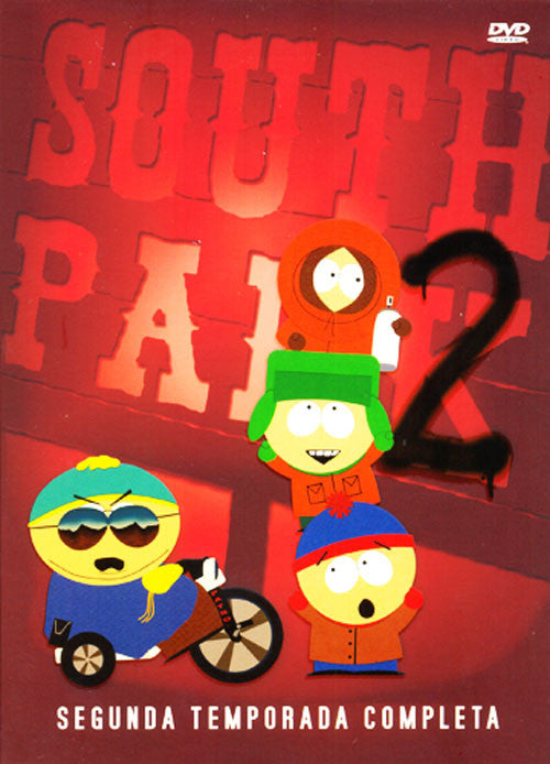 South Park Segunda Temporada 3DVD - South Park 2 Second Season - Almaraz Records | Tienda de Discos y Películas