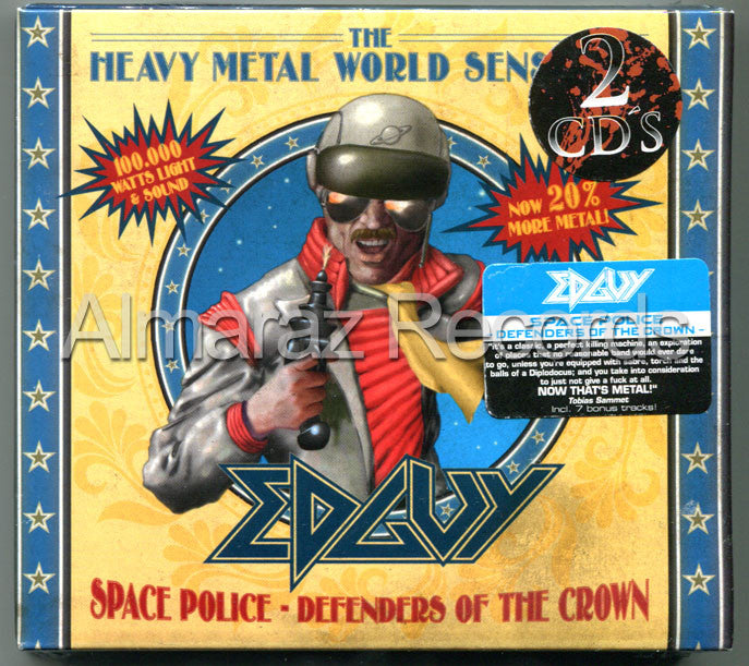 Edguy Space Police Defender Of The Crown 2CD - Almaraz Records | Tienda de Discos y Películas  - 1