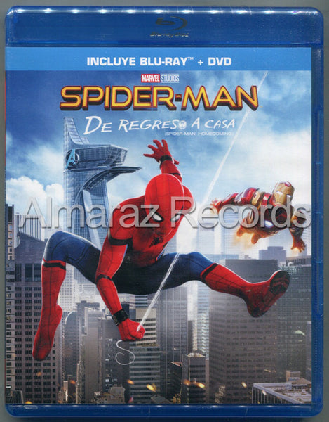 Spider-Man De Regreso A Casa Blu-Ray+DVD