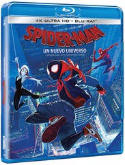 Spider-Man Un Nuevo Universo Blu-Ray 4K Ultra HD + Blu-Ray