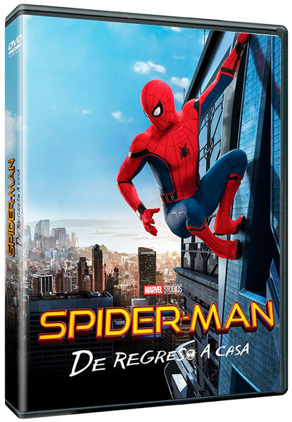 Spider-Man De Regreso A Casa DVD