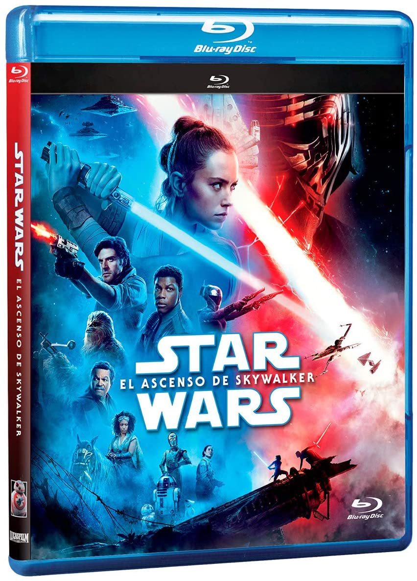 Star Wars Episodio IX El Ascenso De Skywalker Blu-Ray