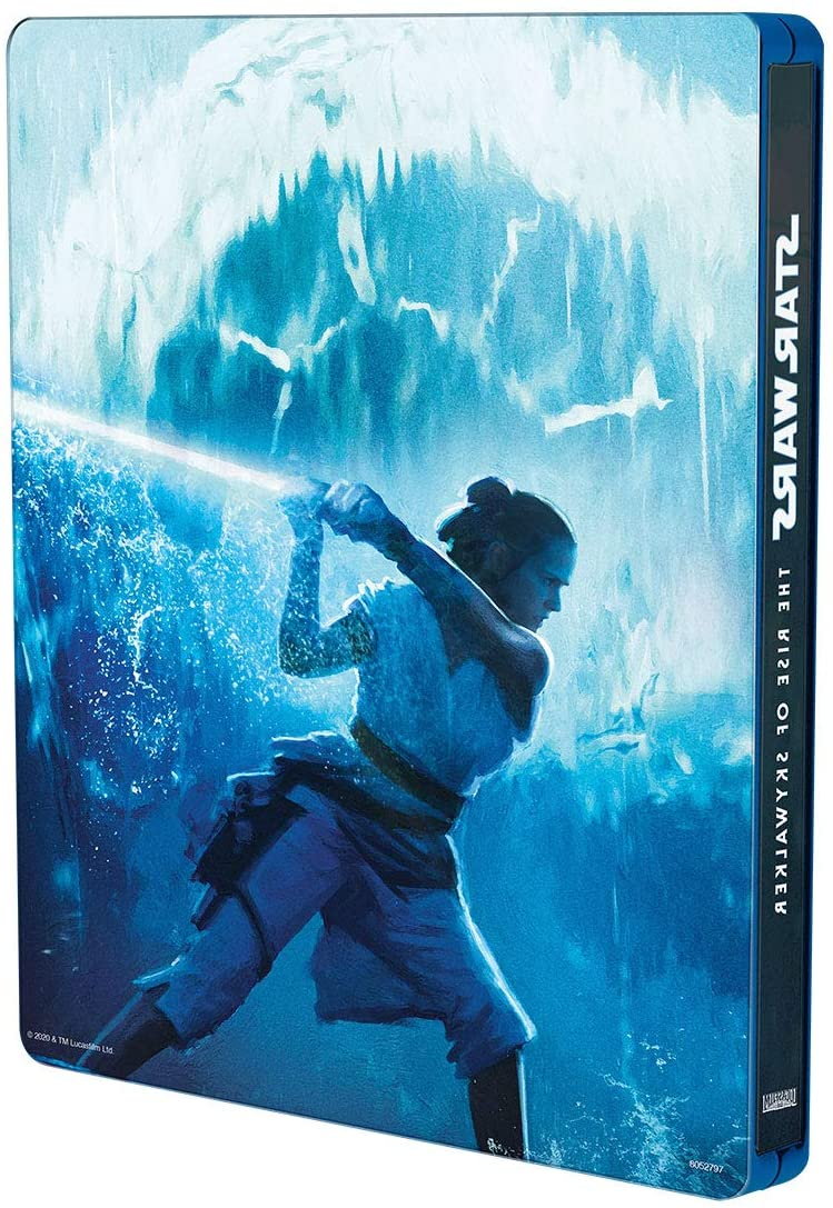 Star Wars Episodio IX El Ascenso De Skywalker Steelbook Blu-Ray+DVD
