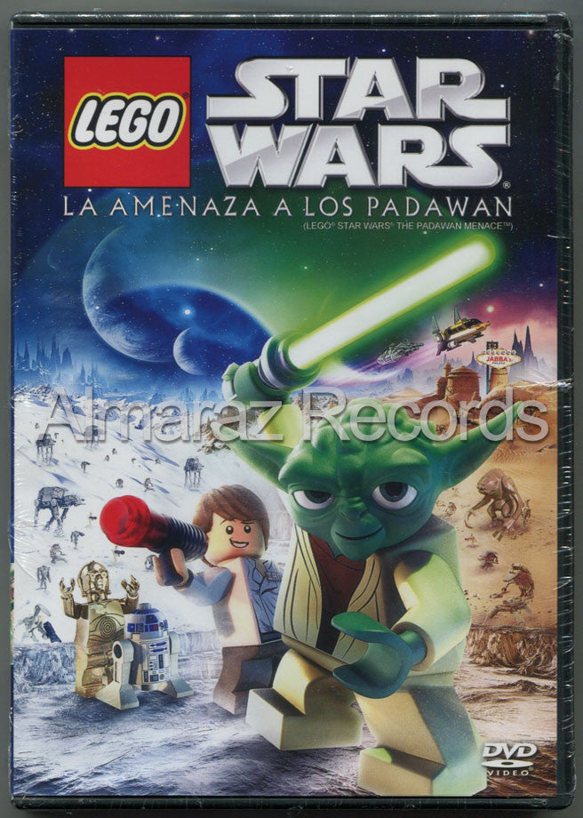 Lego Star Wars La Amenaza A Los Padawan DVD - Lego Star Wars The Padawan Menace - Almaraz Records | Tienda de Discos y Películas  - 1