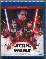 Star Wars Episodio VIII Los Ultimos Jedi Blu-Ray 3D