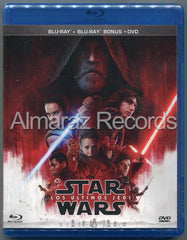 Star Wars Episodio VIII Los Ultimos Jedi Blu-Ray+DVD
