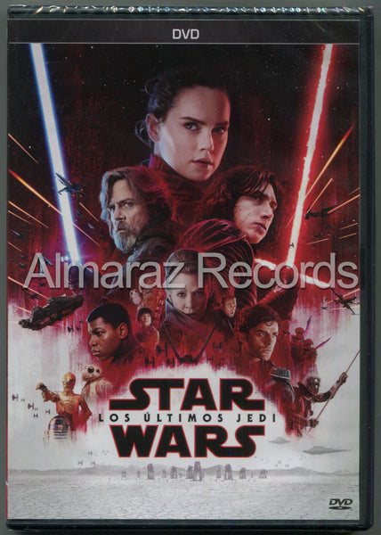 Star Wars Episodio VIII Los Ultimos Jedi DVD
