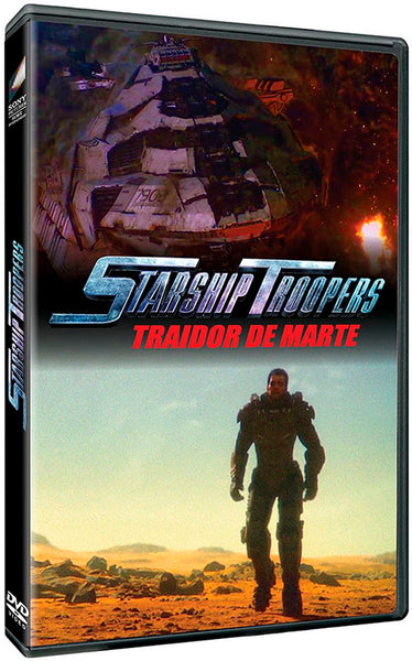 Starship Troopers Traidor De Marte DVD
